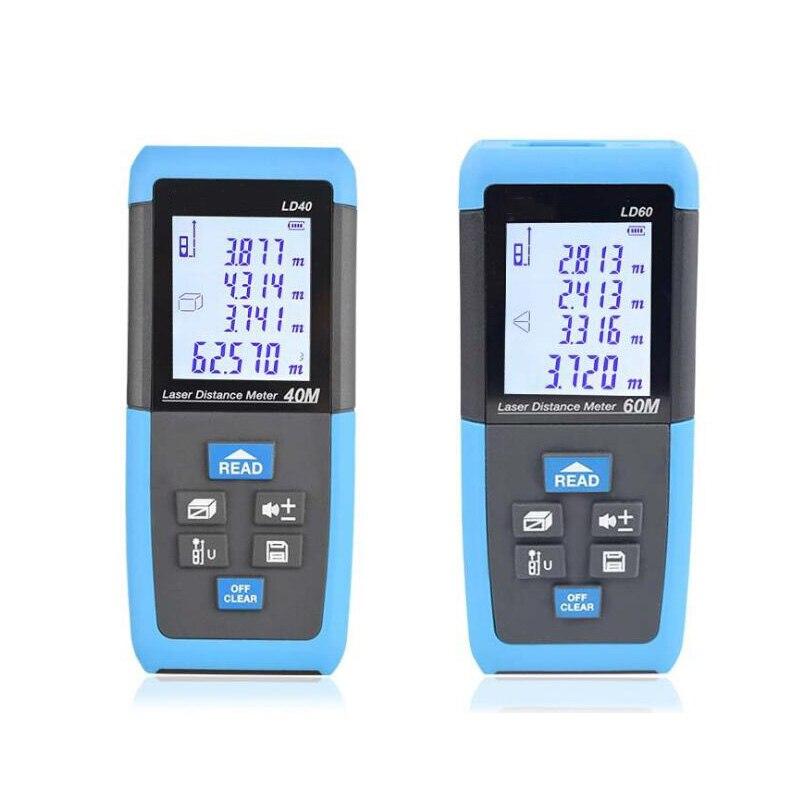 Laser rangefinder 40M 60M Rangefinder electronic ruler construction measuring device instrumentation equipment ruler test tool