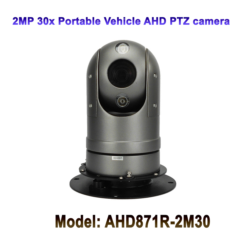 2MP CMOS 30x Optical Zoom Infrared IR 50M Night Vision Vehicle Mini Portable AHD PTZ Camera For fire truck Car2MP CMOS 30x Optical Zoom Infrared IR 50M Night Vision Vehicle Mini Portable AHD PTZ Camera For fire truck Car