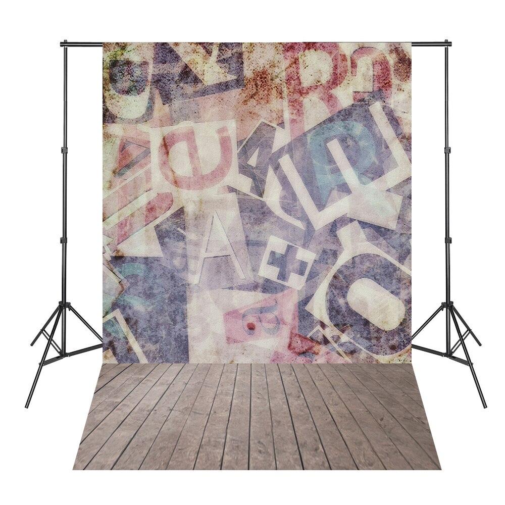 Grafiti Letras de pared Tablero de madera Foto Telones de fondo - Cámara y foto - foto 1