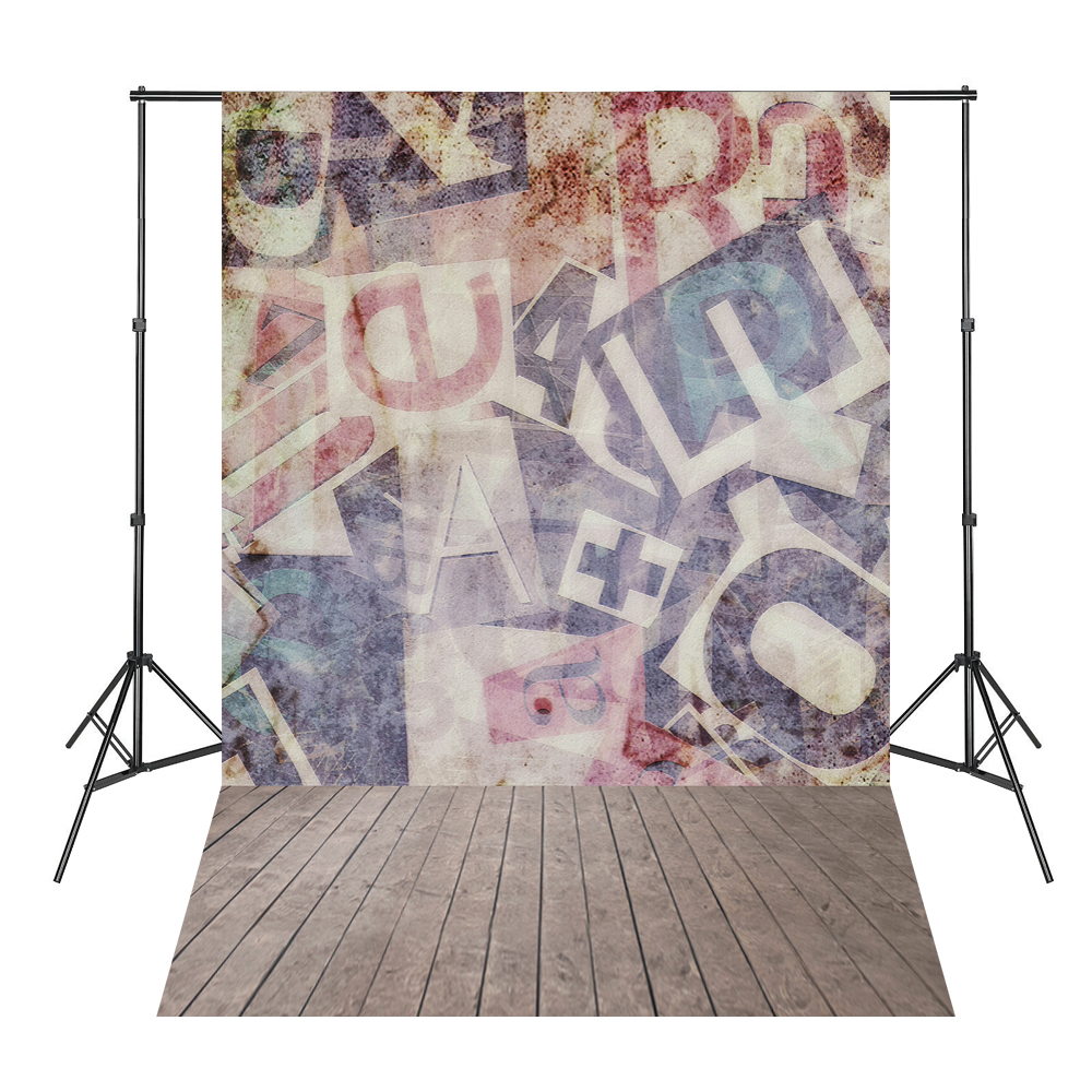 Graffiti Wall Letters Wood Board Photo Backdrops Background Photography Estudio Fotografico