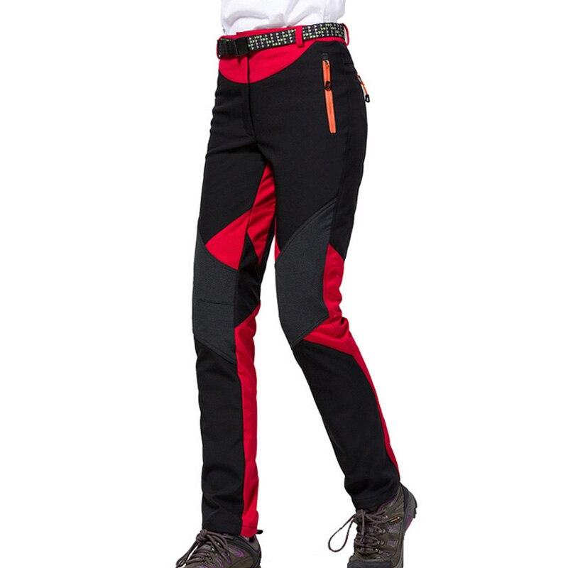 Prix pour Nouveau Extérieure Softech Traverse Pantalon Femmes Pantalon Softshell Coupe-Vent Imperméable Thermique Pour la Randonnée Camping Ski