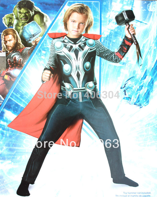 Free shippingAvengers Movie Boys 2 14 years old children thor costume Thor muscle costume party clothes Thor clothing kid-in Boys Costumes from Novelty ...  sc 1 st  AliExpress.com & Free shippingAvengers Movie Boys 2 14 years old children thor ...