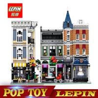 New Lepin 15019 4122pcs Creator Expert Series ASSEMBLY SQUARE Building Blocks Figures Model Bricks Compatible With