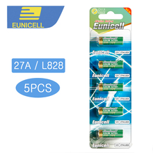 5pcs/lot Alkaline battery 12V 27A Dry Batteries 27AE 27MN A2 L828 for Doorbell, Car alarm, Remote control etc