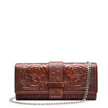 Women's Envelope Clutch Patent Crocodile Skin Clutch Fashion Shoulder Bags For Lady