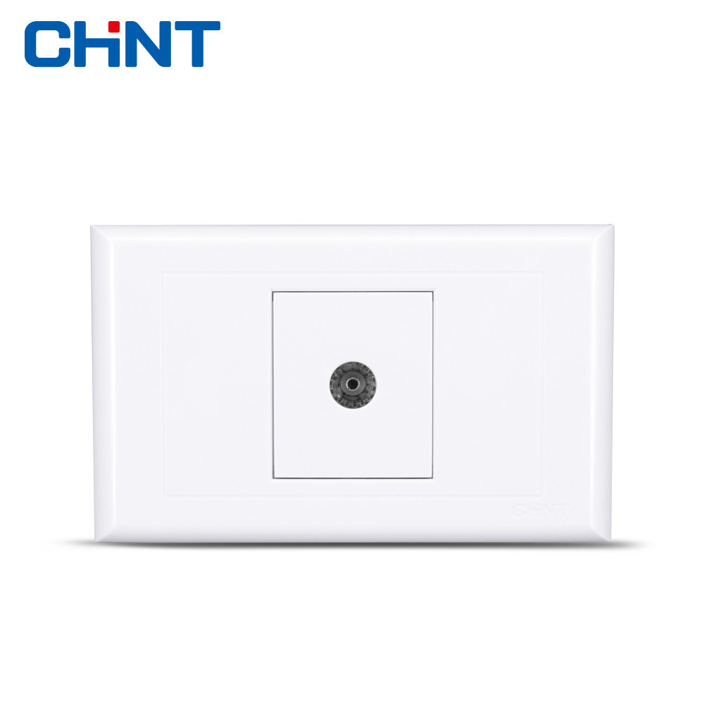 CHINT Switch Socket 118 Type NEW5G A Television Panel Correct Thailand Electrician