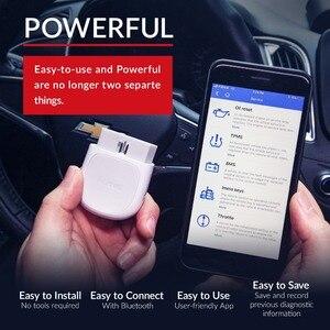 Image 3 - Autel AP200 Bluetooth OBD2 kod skanera czytnik z pełne systemy diagnozuje AutoVIN TPMS IMMO usługi dla rodziny DIYers PK Mk808