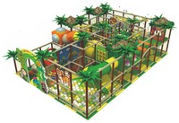 Wholesale EU Standard Jungle Themed Indoor Playground With Ball Blow Machine IP JP14