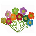 10pcs/pack 8 Colors 32cm Sunflower Plush Toy Bouquet Curtain Clasps Clip Buckle Tieback