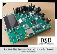 FPGA Lossless mastering digital turntable player APE FLAC WAV DSD 192K24bit HIFI