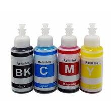 XIJIN Dye 70ml*4 Refill Ink Kit Compatible for L100 L110 L120 L132 L210 L222 L300 L312 Printers Ink Cartridge CISS