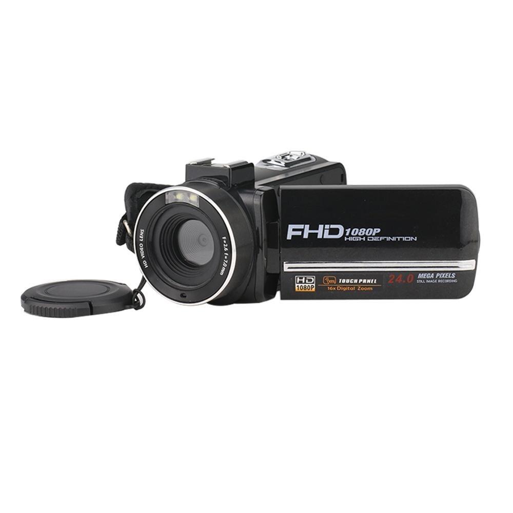 24 millions PX caméra vidéo numérique 8X Zoom sans Microphone 1080 P HD 3