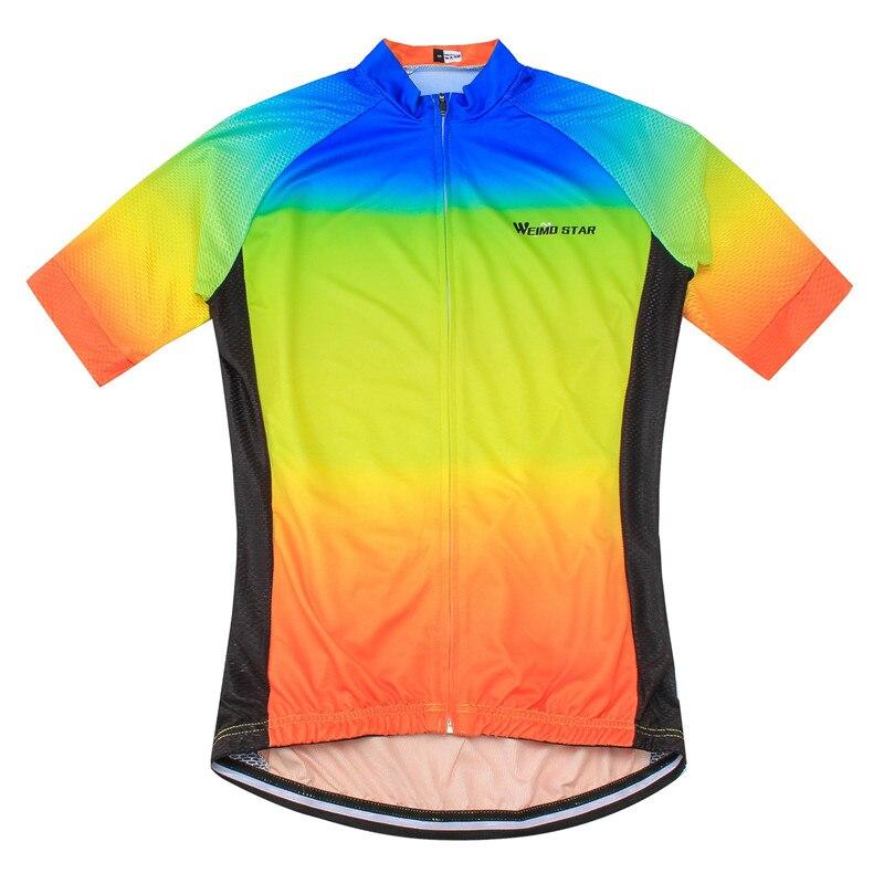 Weimostar Radtrikot Top Atmungsaktives Gewebe Fahrradbekleidung - Radfahren - Foto 3