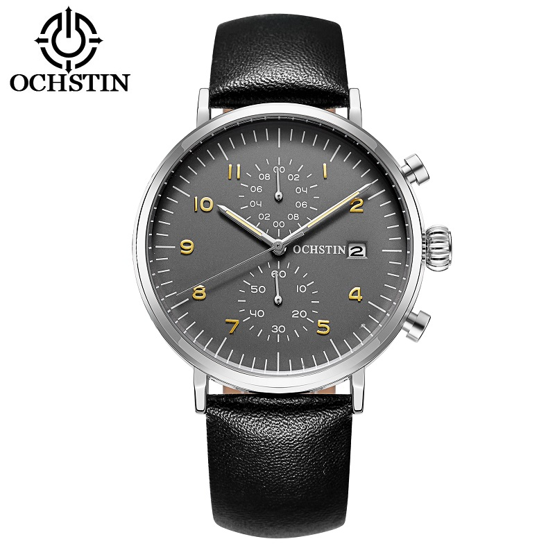 OCHSTIN Military Watch Men Sport Watches 2017 Top Brand Luxury Mens Quartz Casual Wrist Watch Male Clock Hours Relogio Masculino oubaoer fashion top brand luxury men s watches men casual military business clock male clocks sport mechanical wrist watch men
