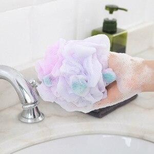 Image 4 - FOURETAW baignoire de bain douce de grande taille, boule de bain, boule de bain fraîche, serviette de bain, nettoyage en maille, produit éponge de lavage