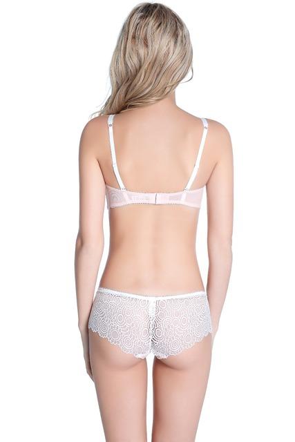 Transparent Lace Bra and Panty Set