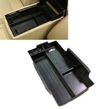 JEAZEA Car Center Armrest Storage Box Glove Box Holder Tray Storage Box Organizer For Toyota Camry XV50 2012 2013 2014 2015