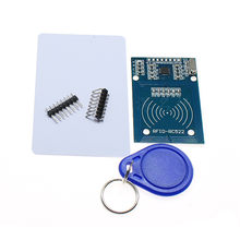 MFRC-522 RC-522 RC522 13.56MHz RFID Module For arduino SPI Writer Reader IC Card with the IC card with Software(China)