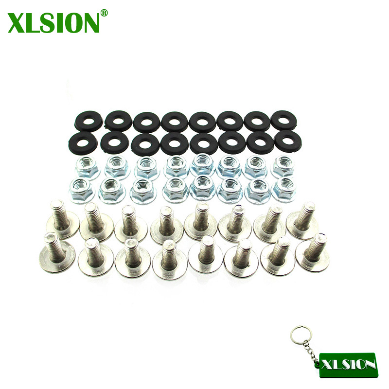 Honey Xlsion M6 X16 Atv Quad Plastic Fender Bolt Washer Nut Screw Kit For 50cc 70cc 90cc 110cc 125cc We Have Won Praise From Customers Engines & Engine Parts