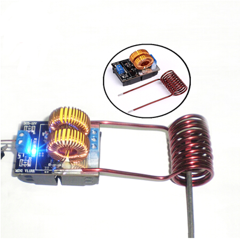 Mini DC 5 15V 150W ZVS Induction Heating Board High Voltage Generator Heater With Coil for