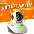 HD 720 P PTZ Ip-камера WIFI Ик-Ночного Видения Два двусторонняя Передача Звука 1.0MP CCTV Камеры Наблюдения Беспроводной Onvif P2P XMEye крытый