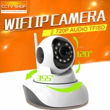 HD 720 P PTZ Cámara IP WIFI Ir-cortó la Visión Nocturna de Dos Audio bidireccional Onvif P2P 1.0MP CCTV Cámaras de Vigilancia Inalámbrica XMEye interior