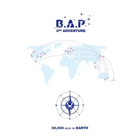 B.A.P 3RD ADVENTURE PHOTOBOOK - 50,000 MILES ON EARTH Release Date 2016.09.30 Kpop tvxq tohoshinki special live tour tistory in seoul photobook 100page release date 2015 05 29 korea kpop