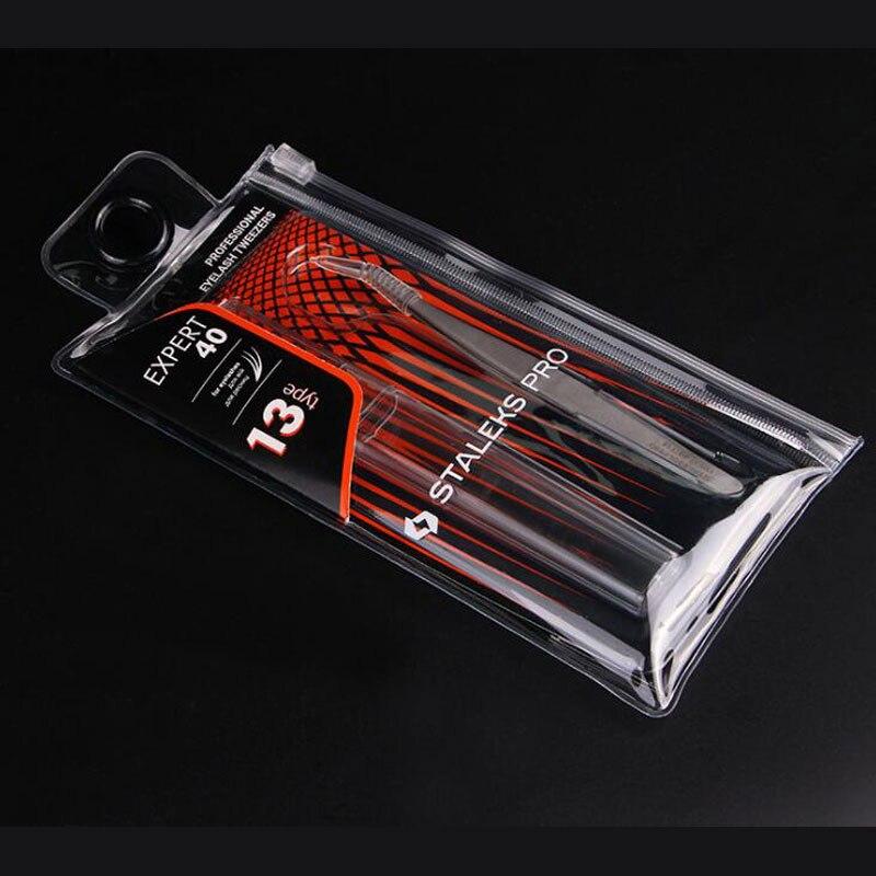 Pinças de cílios profissionais 3d volume pinça
