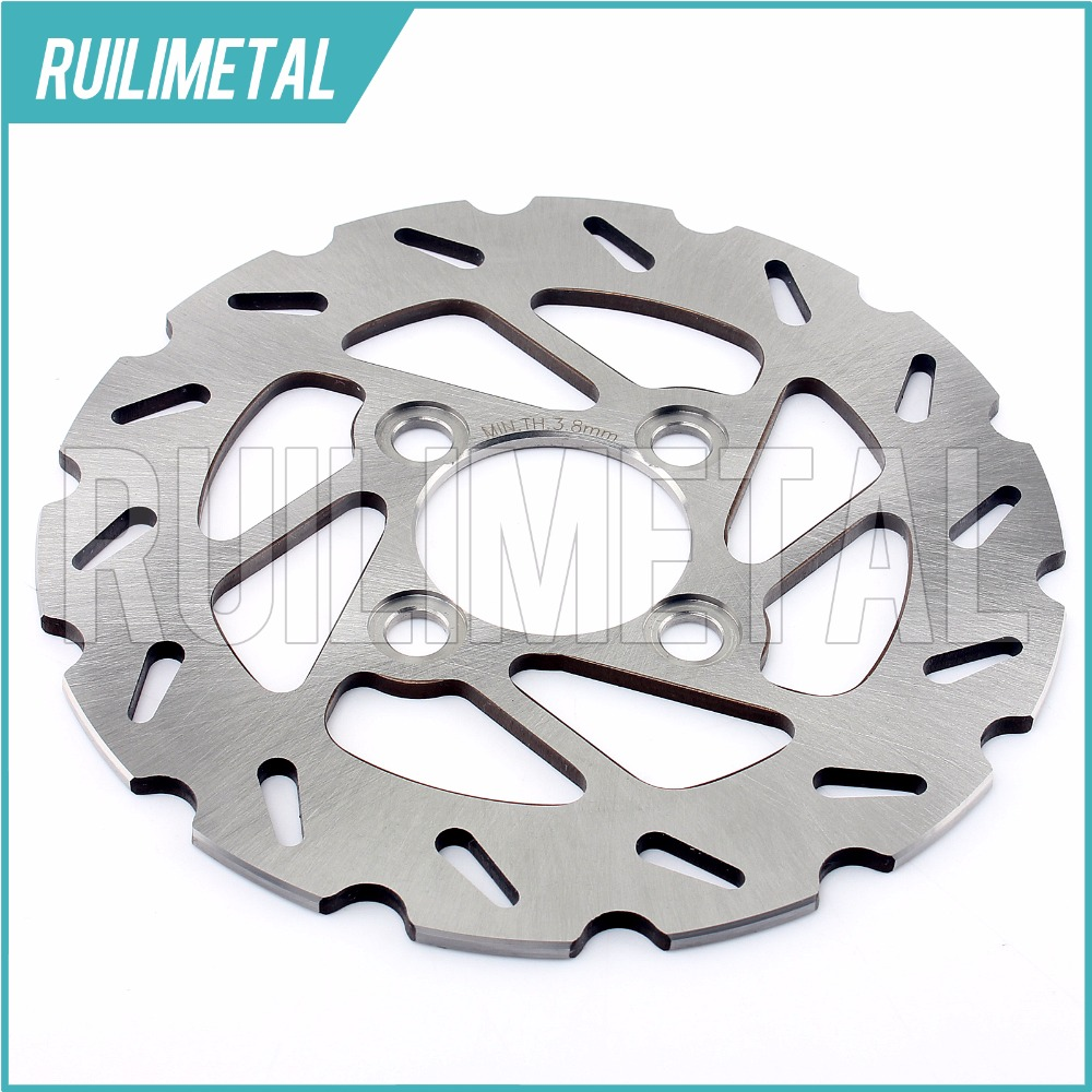 ATV QUAD Front Brake Disc Rotor for YAMAHA YFM 400 FT FV  Big Bear 4x4 400 FWNHM FHM Big Bear Buckmaster 4WD FS FT FV 04-06 keoghs motorcycle brake disc brake rotor floating 260mm 82mm diameter cnc for yamaha scooter bws cygnus front disc replace