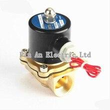 16 мм 2W160-15 N/C 2 Way 1/2 «Воды Газа Пневматический Электрический Электромагнитный Клапан Вода Воздух DC12V 24 В AC110V 220 В