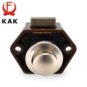 Image 5 - 10PCS KAK Camper Auto Push Lock 20mm RV Caravan Boot Motor Hause Schrank Schublade Latch Taste Schlösser Für möbel Hardware
