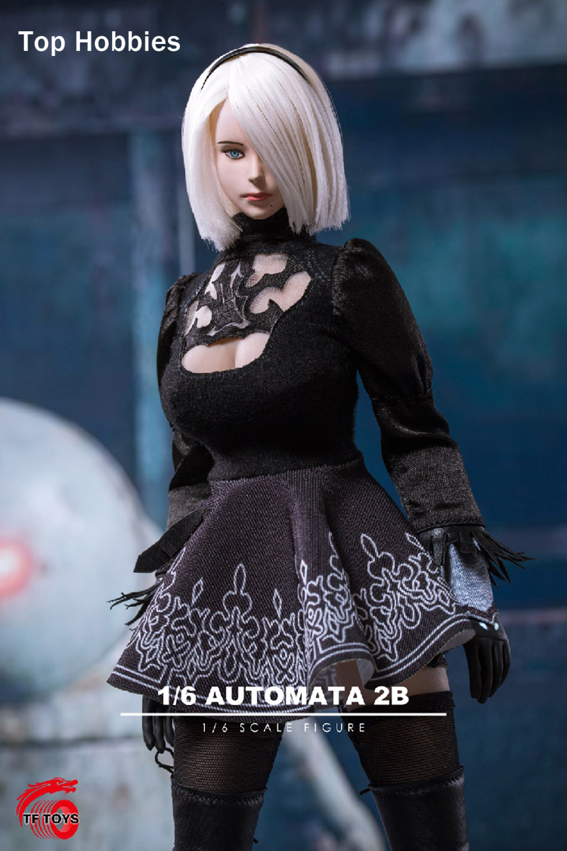 TF TOYS TF01 1/6 PS4 NieR:Automata YoRHa No. 2 Type B Girl Clothing Sets No Body for 12 Inch Phicen TBLeague Action Figures FAI