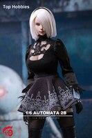 TF TOYS TF01 1/6 PS4 NieR:Automata YoRHa No. 2 Type B Girl Clothing Sets No Body for 12 Inch Phicen TBLeague Action Figures FAI