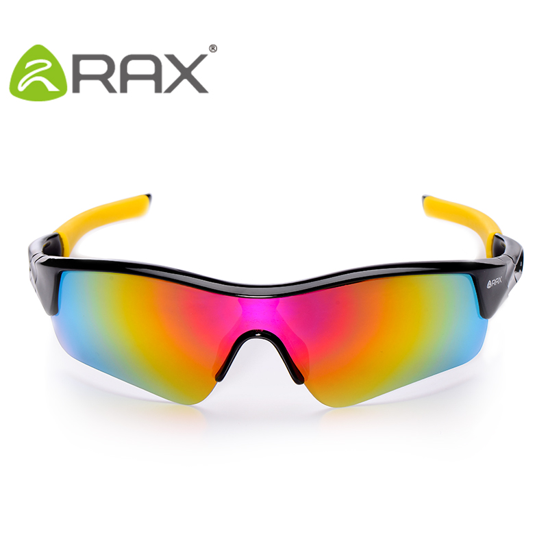 RAX Professional Polarized Cycling Goggles Glasses Bike Men Outdoor Sports Bicycle Sunglasses UV400 5 lens Windproof Eyewear
