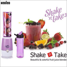 Xeoleo Juicer machine Shake n Take 3 Mini Multi function Juicer extractor Outdoor Travel Portable Fruit