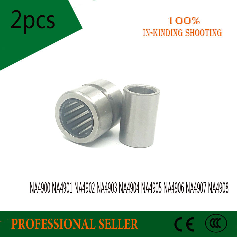 NA4901 Bearing 12*24*13 mm 1 PC Solid Collar Needle Roller With Inner Ring