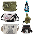 Anime Sword Art Online SAO Kirigaya Asuna Canvas Messenger Bag Satchels Shoulder Bag Sling Pack Cosplay