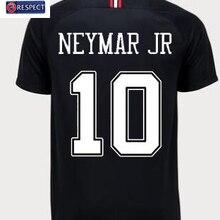 90be5e23ae 2018-2019 new jersey psg 18 19 Champions League Paris Jordam MBAPPE  agasalho preto branco camisa de futebol CAVANI VERRATTI fute.