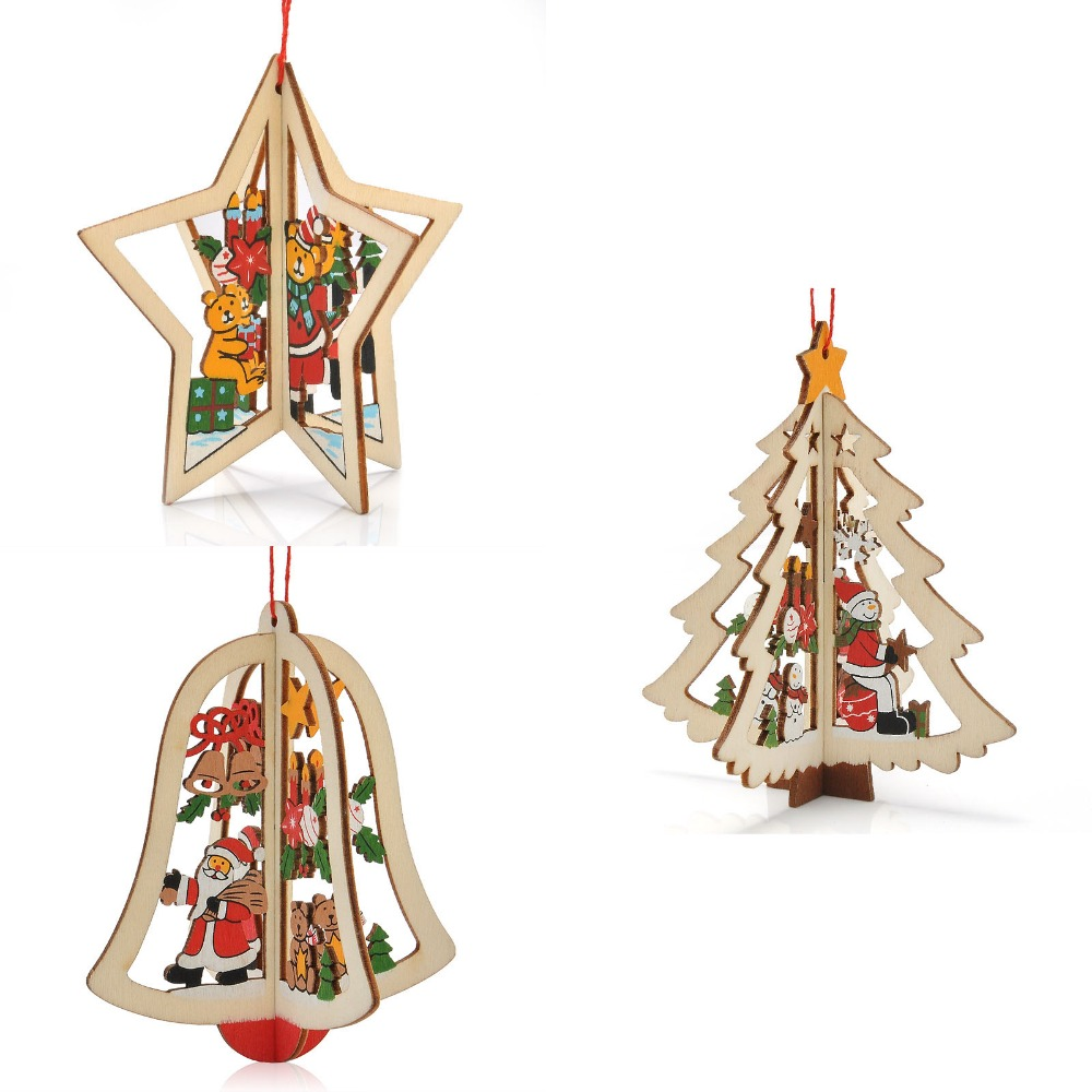 Christmas Tree Ornaments Festival Party Garden Ornament
