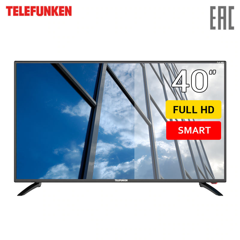 Фото - LED TV 40 Telefunken TF-LED40S81T2S 4049InchTv dvb dvb-t dvb-t2 digital chunghop universal learning remote control controller l309 for tv sat dvd cbl dvb t aux big key large buttons copy