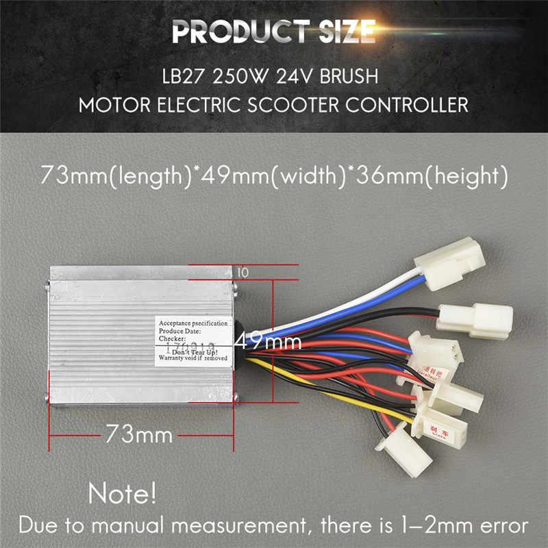 電動自転車変換キット LB27 250 ワット 24V ブラシモータ Controll er 電動自転車 e バイクスクーターハブモーター e-バイク