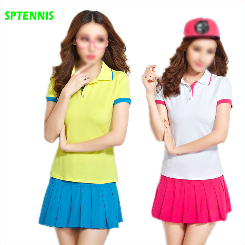Tennis Badminton Suits With Polo Shirt And Bottom Dress
