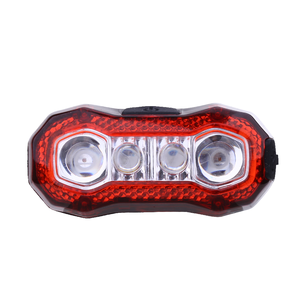 4-leds bicycle tail light 5 Modes Bicycle Bike Cycling Rear Tail Bicicleta Tail Light Safty Warning Light LED Bike Accessories 5 led 3 mode bicycle bike rear tail lamp light red
