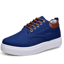 men s shoes solid color denim casual mens footwear spring summer canvas lace-up leisure insole plush black wine re