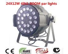 Светодиодная лампа для освещения, 24x12 Вт, 4 в 1
