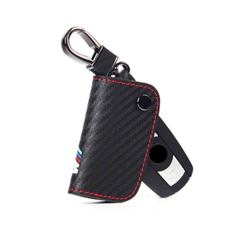 Car-Styling Key Case For Bmw E46 E39 E38 E90 E60 E36 F30 F30 E34 F10 F20 E92 E38 E91 E53 E70 X5 X3 X6 M M3 M5 M emblem Key Cover leahter key holder car styling emblem wallets shell case for bmw m 1 3 5 7 series m3 m5 x1 x3 x5 e34 e36 e38 e39 e46 e30 e92 f30
