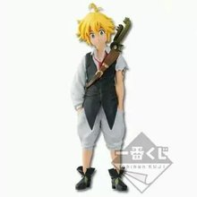 The Seven Deadly Sins Nanatsu no Taizai Dragon's Sin of Wrath Meliodas Serpent's Sin of Envy Fox's Sin of Greed Action Figure