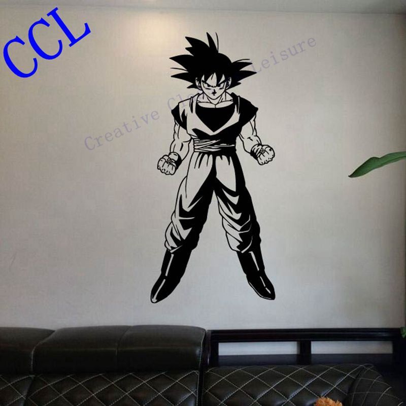 Buy free shipping dragon ball z goku - Stickers papier peint mural ...