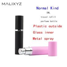 Refillable 5ml Refillable Mini Perfume Spray Bottle Aluminum Spray Atomizer Portable Travel Cosmetic Container Perfume Bottle