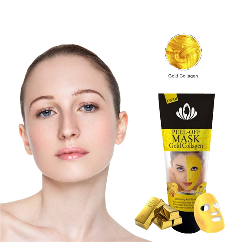 9 Types Gold Collagen Skin Care Products Soothing Hydra Solution Facial Mask Hyaluronic Acid Face Mask Moisturizing Korean Mask